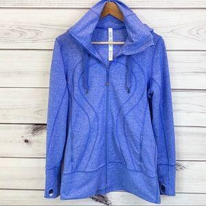 LULULEMON Stride Jacket Heathered Rocksteady Blue